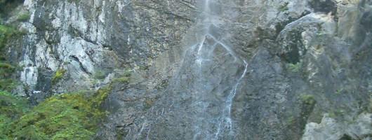 Ausflug zum Scheuenwasserfall
